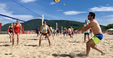 Defensa voley playa Noja