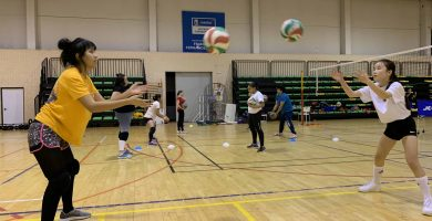Voleibol en Carabanchel